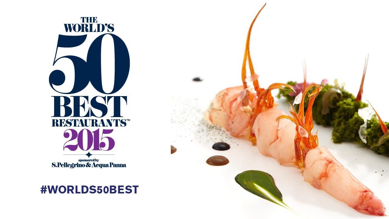 Објавена листата на 50-те најдобри ресторани на светот